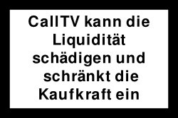 CallTV Warnung1