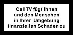 CallTV Warnung3