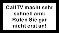 CallTV Warnung5