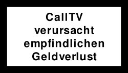 CallTV Warnung6