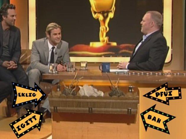 Blumenkasten an Stefan Raabs TV-Total Schreibtisch