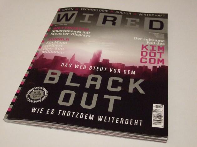 Wired Deutschland zweite Ausgabe