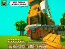 Windmühle in gronkhs MinecraftLP mit Baufehler