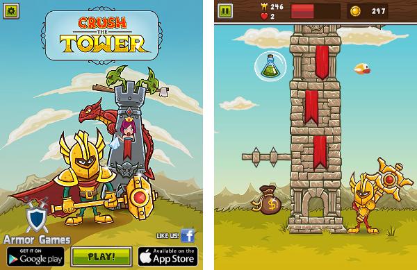 """Screenshot """"Crush the Tower"""""""