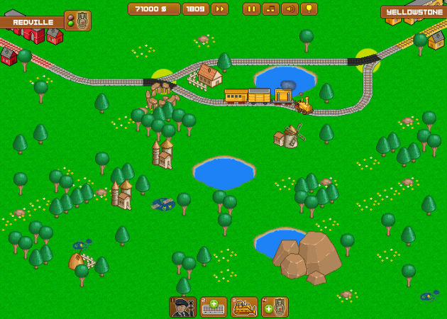"Screenshot ""Railway Valley 2"""