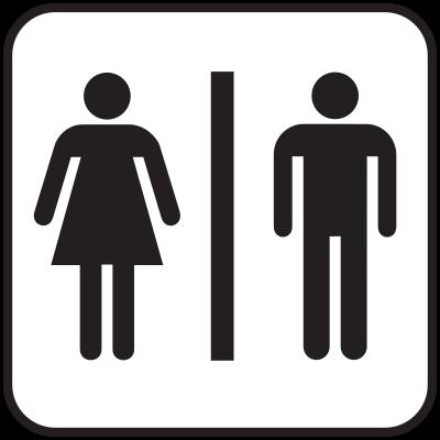 Piktogramm Toilette