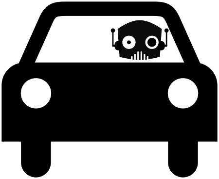 robot-car-pictogram